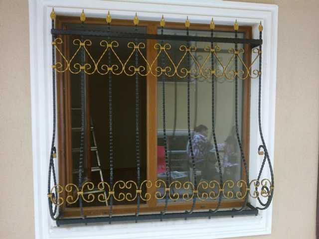 Gedmaksan Demir Dograma Ferforje Kapı Ferforje Korkuluk Bina Kapıları