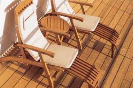 Deck Sistre - Deck Yağı - Deck Bakımı - Teak Mobilyalarının Bakımı - Tik Bakım Hizmeti
