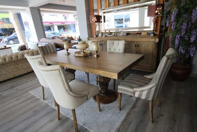 country yemek odası, konsol, masa, özel ölçü mobilya