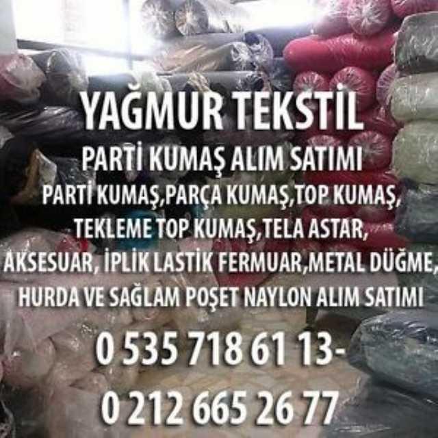 İstanbul Kumaş Alnır 05357186113 Parti Kumaş Alınır