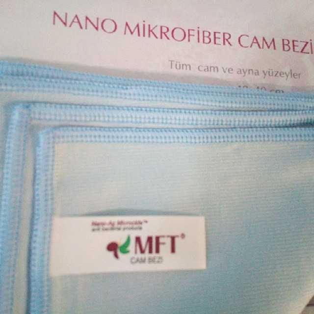 Mikrofiber Temizlik Bezleri Kimyasal Deterjan Olmadan Sağlık