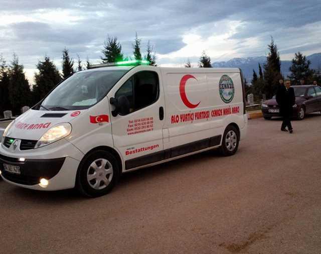 Özel İstanbul Cenaze İşleri Hava Yolu Kara Yolu Cenaze