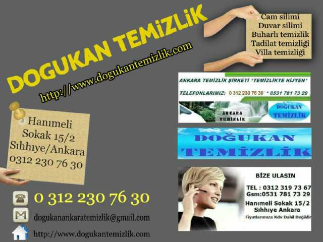 Ankara Doğukan Temizlik Şirketleri