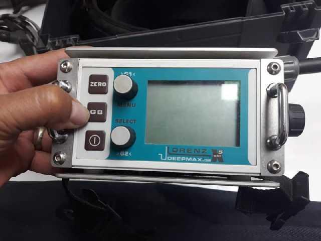 Lorenz Deepmaxx X5 Dedektör 3 Başlıklı 2.el Dedektör