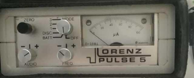 Lorenz Pulse 5 Dedektör İbreli Eski Efsane Dedektör
