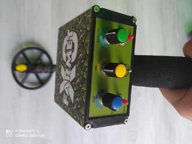 2.el Farmet X3 Dedektör Ayrımlı Derin Kaçmaz Fiyat
