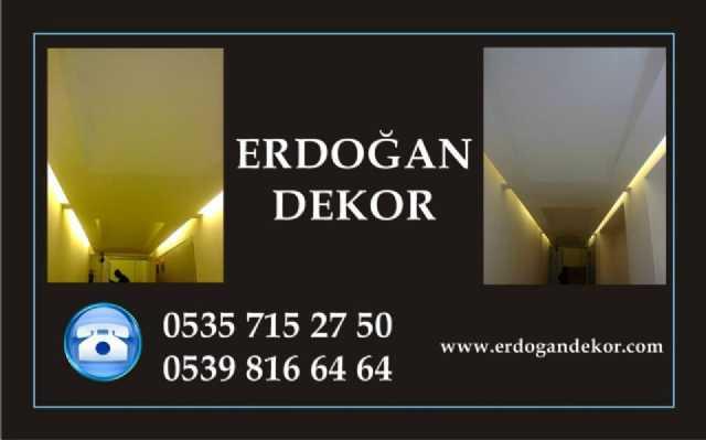Erdoğan İnşaat Dekorasyon Boya İç Dekorasyon Kartonpiyer Alçı