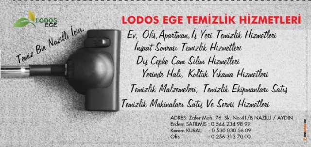 Nazilli Temizlik Hizmetleri Lodos Ege Ltd. Şti.