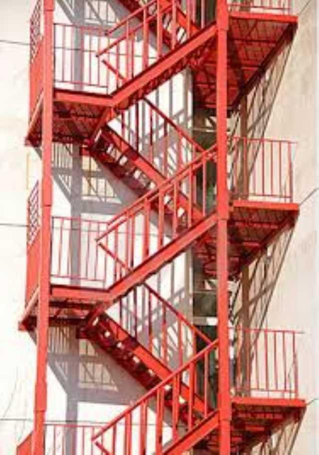 Ucuz Yangın Kapıları Söndürme Sistemleri Yangın Merdiveni