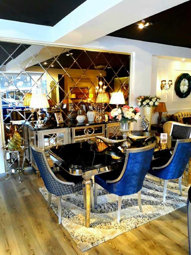 Art Deco Yemek Odaları En Trend Mobilyalar