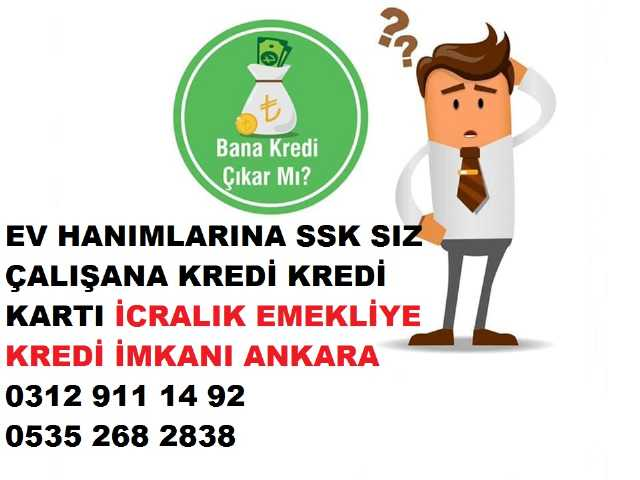 Ankara Kredi Başvurusu Ankara Kredi Çözüm Merkezi