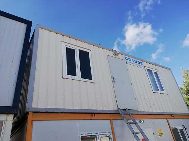 İkinci El 3x7 İki Oda Konteyner Şantiye Ofis Wc Duş Yatakhane Konteynerleri