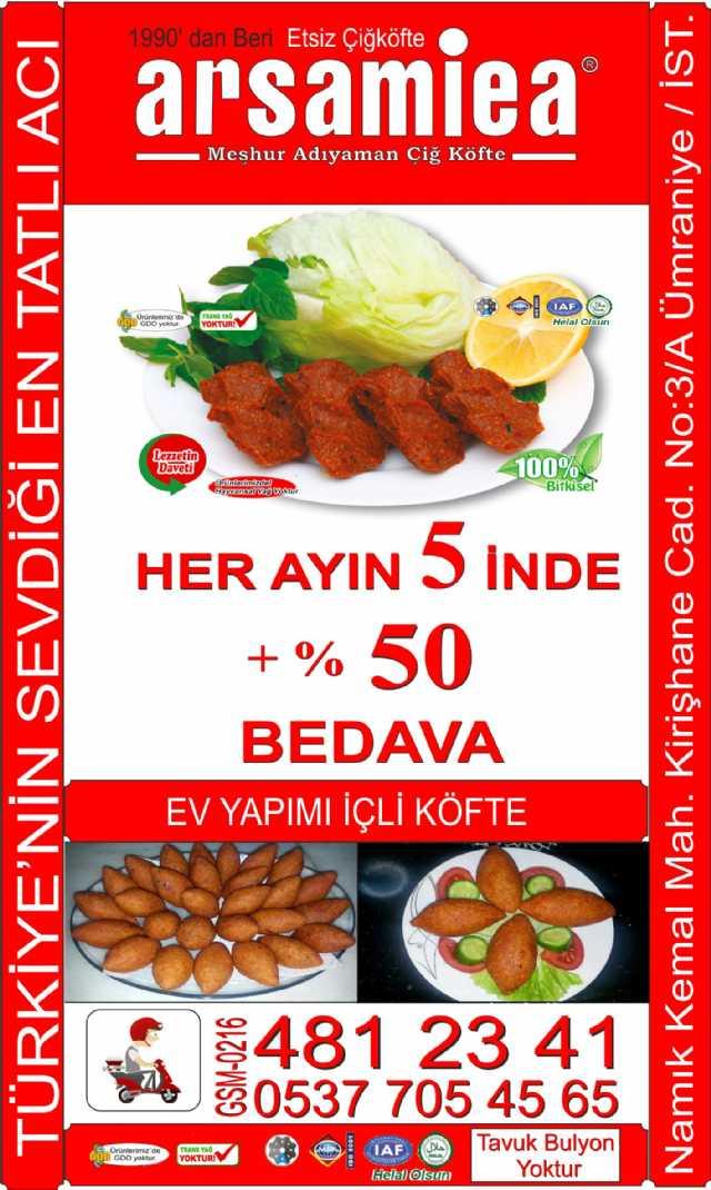 Türkiyenin Sevdiği En Tatlı Acı Arsamiea Çiğköfte