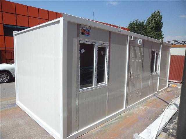 Kiralık Konteynerler Şan Konteyner Seyyar Wc Kabin Güvenlik Kabinleri