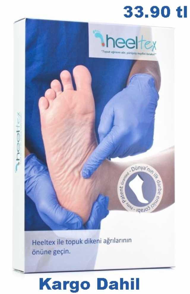 Heeltex Topuk Dikeni Çorapları