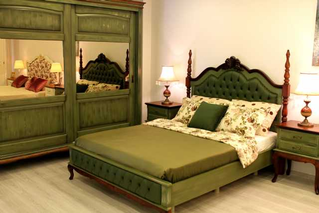 country yatak odaları, karyola,komadin,makyaj masası,