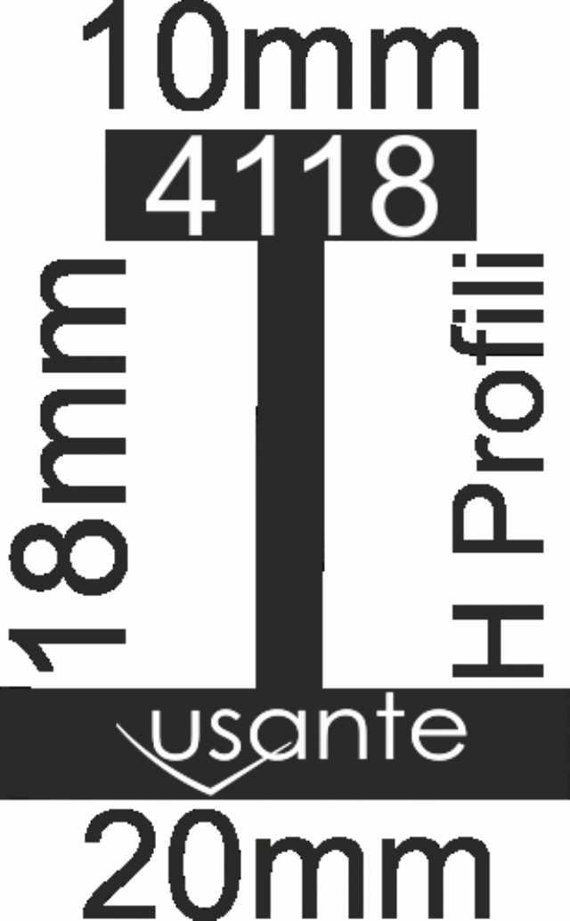 Aluminyum Profiller , Dekarasyon Mobilya İçin Usante
