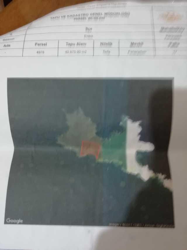 Erdek Karşıyaka Fener Adasında Parselli 160metre Arsa Satılık