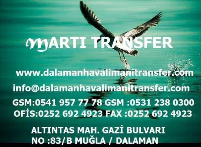 Dalaman Transfer Dalaman Havalimanı Transfer Dalaman Taksi
