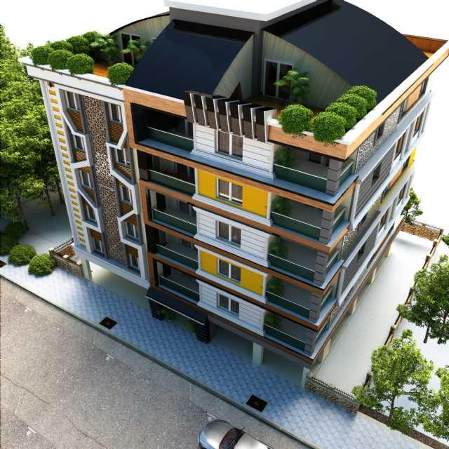 İncirliova Hazal Apartmanında Satılık 21 Daire