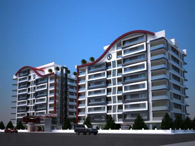 İncirliova Şehri Arnis Konutlarında Satılık Daire