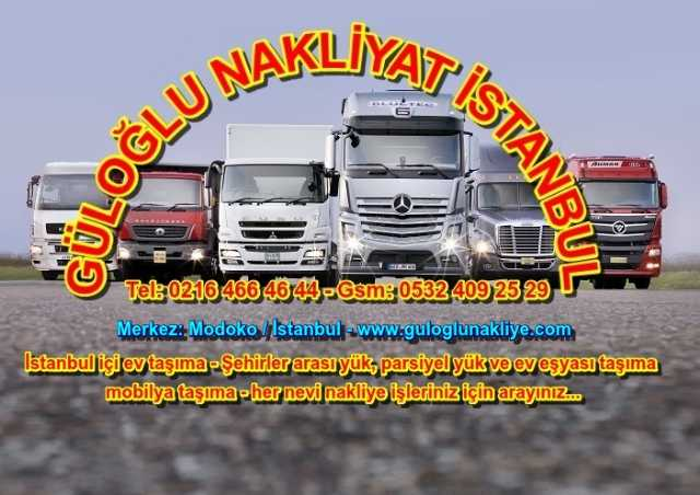 Nakliyeci İstanbul Ev Taşıma, Parça Yük Mobilya Taşıma