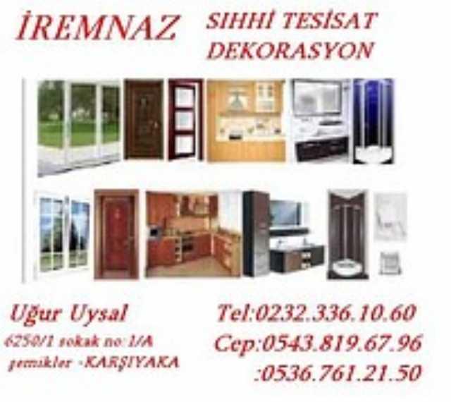 İzmir Karşıyaka İremnaz Sihhi Tesisat