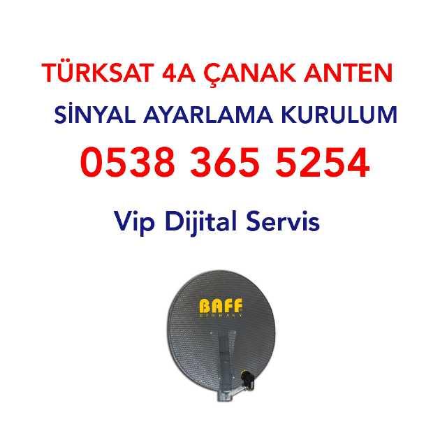 Konya 7/24 Uyducu Türksat 4a Çanak Uydu Anten Sinyal Ayar Tamir Servisi