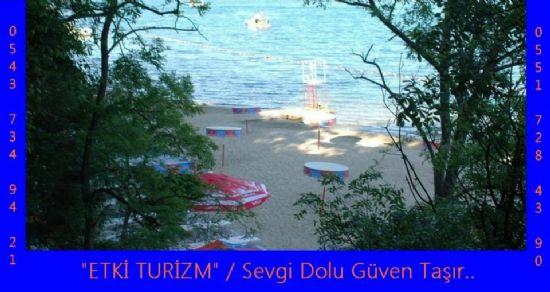 Bayanlar Plajı - Etki Turizm, Sevgi Dolu Güven Taşır