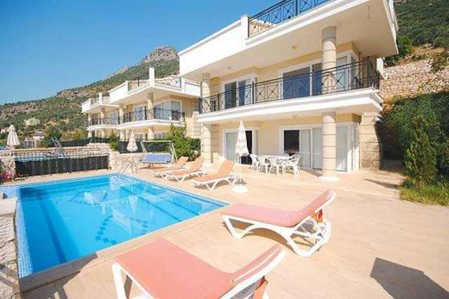 Antalya Kaş Kalkanda Özel Havuzlu Haftalık Kiralık Villa