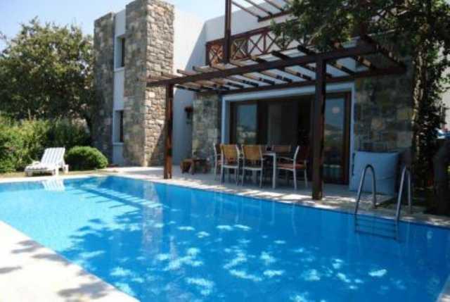 Muğla Bodrum Gümüşlükte Özel Havuzlu Haftalık Kiralık Villa