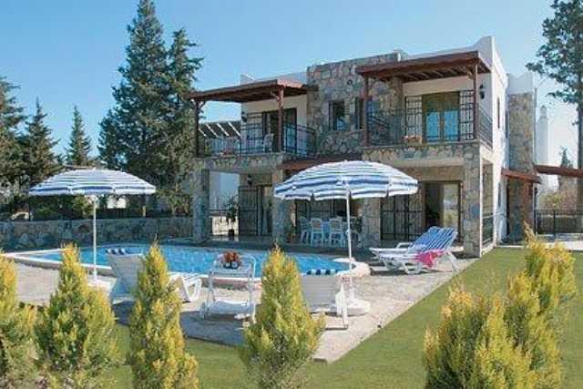Muğla Bodrum Bitezde Özel Havuzlu Haftalık Kiralık Villa