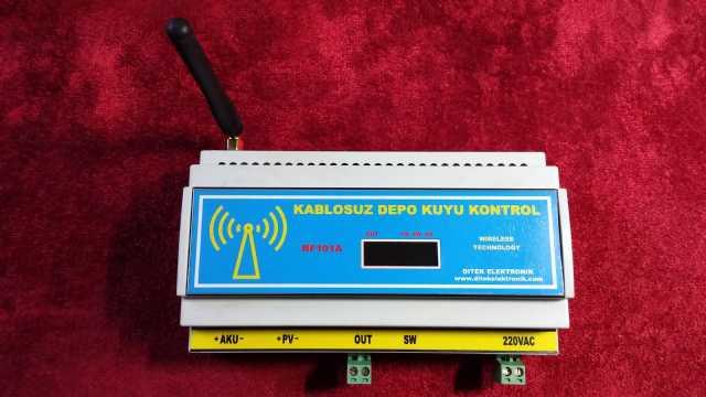 Kablosuz Depo Kuyu Kontrol Sistemi
