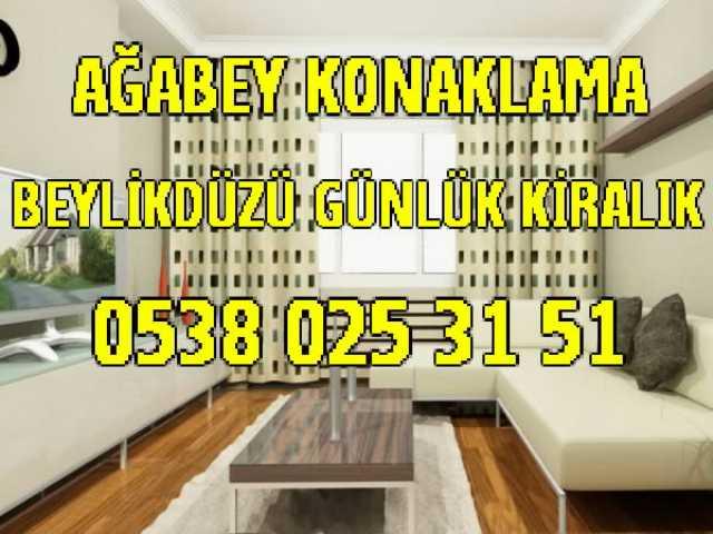 Beylikduzu Gunluk Kiralik Daire 0538 025 31 51