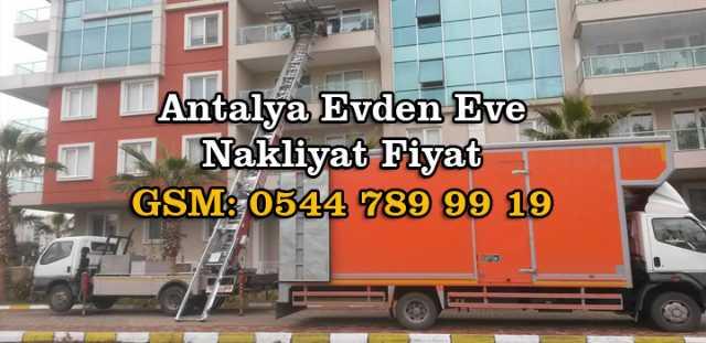 Antalya Evden Eve Nakliyat Firmaları Antalya Evden Eve Nakliyat