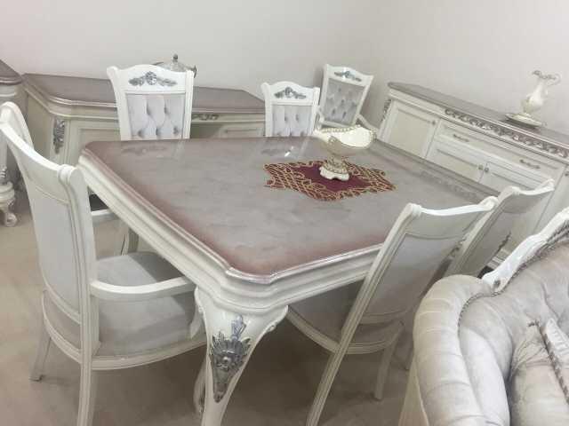 Avangart Yemek Odası Avanrgart Masa Sandalye