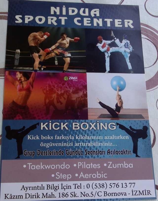 Bornova Pilates Zumba Aerobic Step Spor Salonu