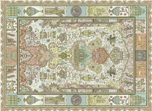 Yeni İran El Yapimi Hali Desenler