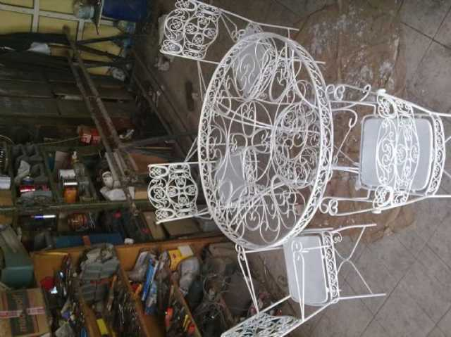 Eski Osmanlı Tarzı Masa Sandalye