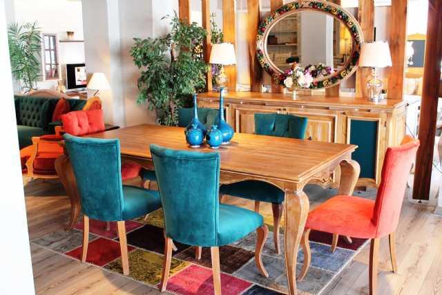 Valero Yemek Odası Masa Sandalye Konsol