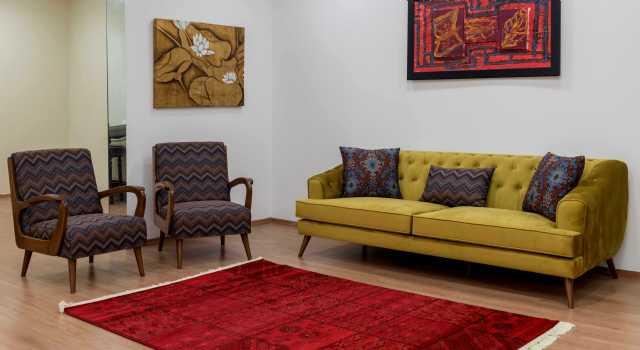 Art Deco Koltuk Takımları Ahşaplı Modoko Koltuk Takımları