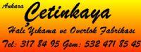 Çetinkaya Halı Yıkama Ve Overlok Logosu