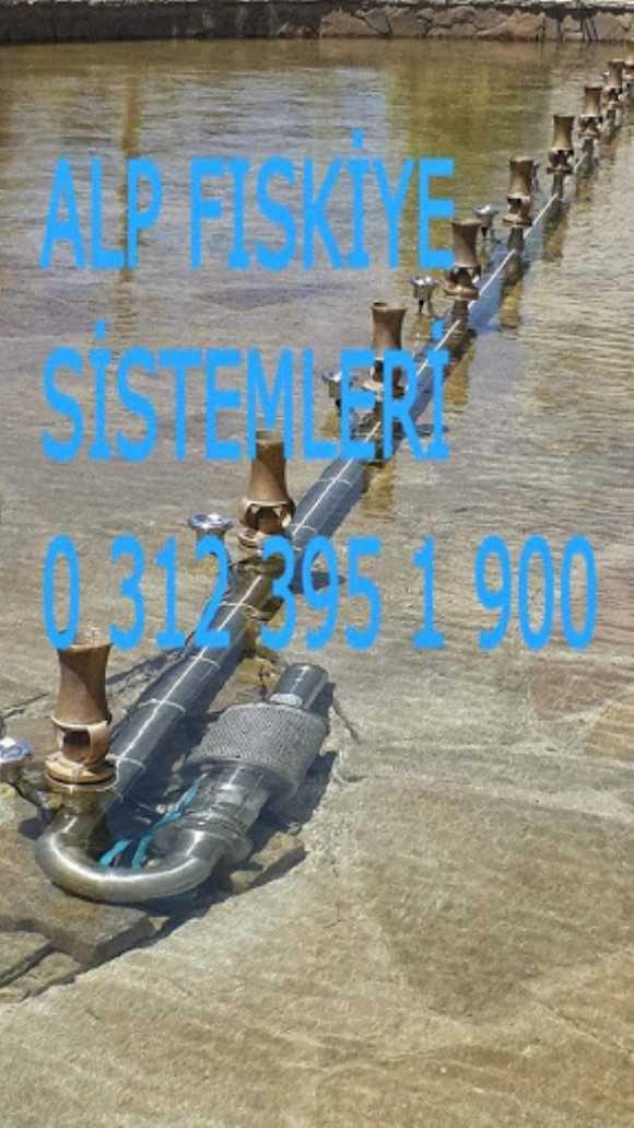 Fıskiye Sistemleri Fıskiye Nozulları Havuz Fıskiyeleri
