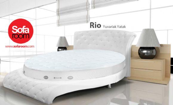 Yuvarlak Yatak Rıo Yuvarlak Yatak Seti