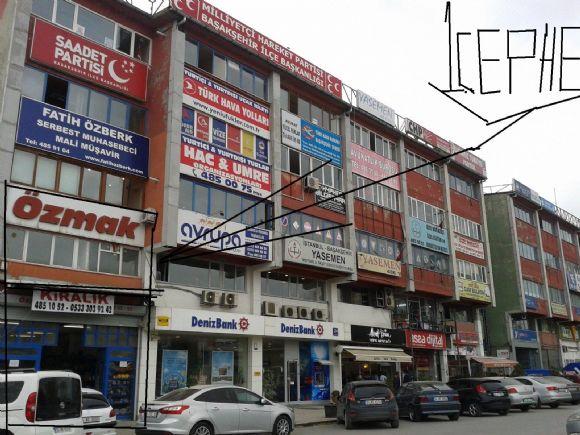 Başakşehir Metro Durağında 2 Cepheli 200m2 Mağaza Kiralık