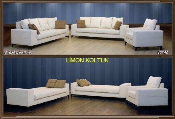 Limon Koltuktan Topaz Yataklı Koltuk Takımı