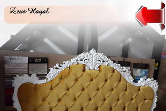 Klasik Avangard Yatak Başlıkları Sedef Kapitone