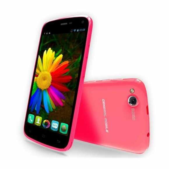 General Mobile Discovery 16gb Pembe Cep Telefonu - Çift Sim Kartlı - Telpa Garantili