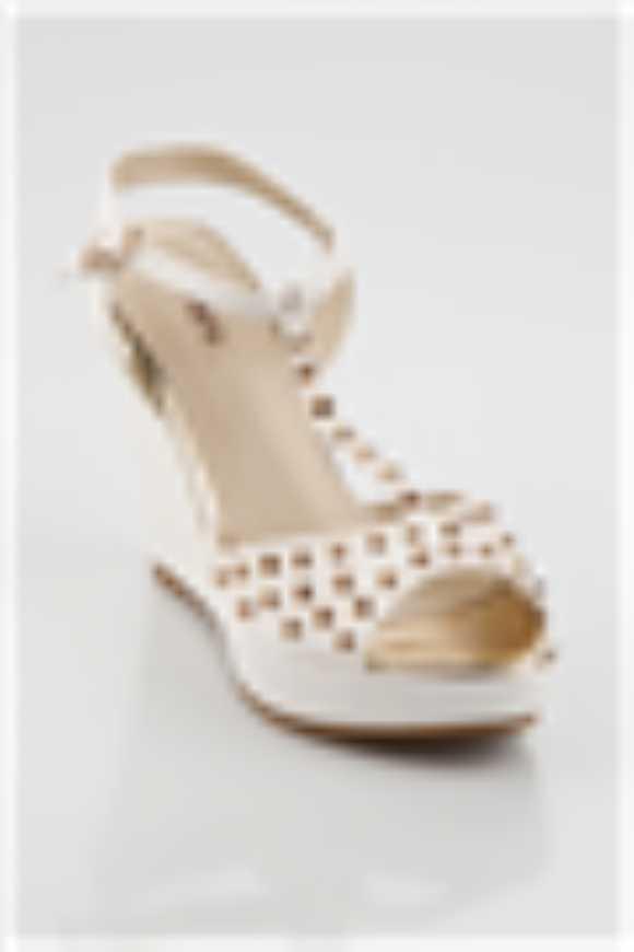 Jumex Dolgu Beyaz Bayan Ayakkabı