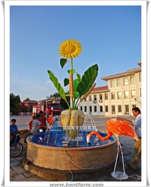 Süs Havuzları Kentform Tasarım